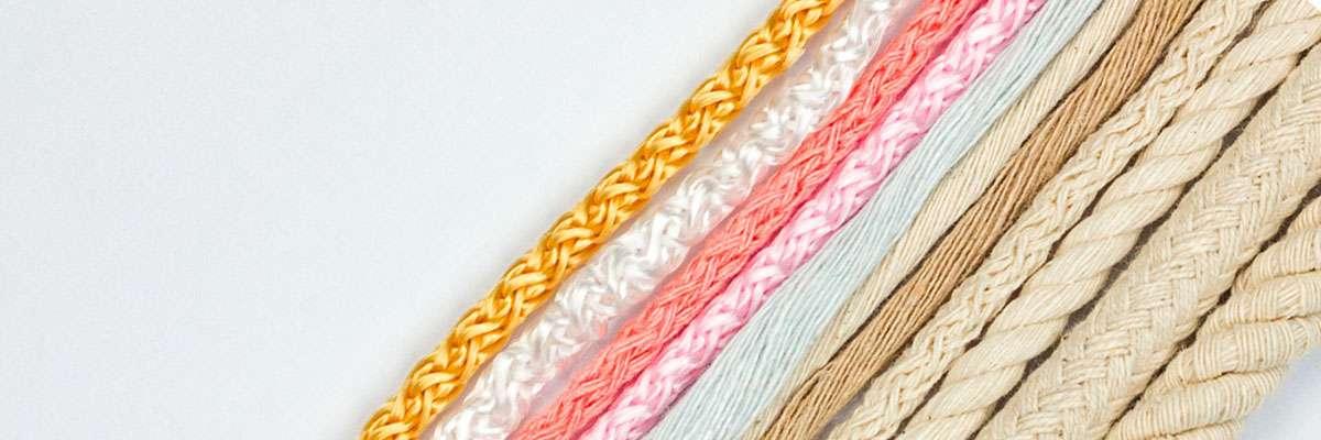 cuerdas macramé